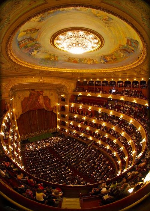 teatro colon dentro